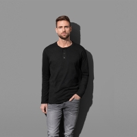 ST9460 | LONG HENLEY T-SHIRT