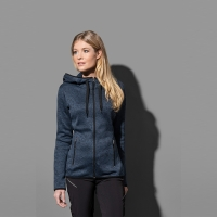 ST5950 | ACTIVE KNIT FLEECE JACKET